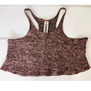 NWT URBAN OUTFITTERS Wool Curatorial Crop Top
